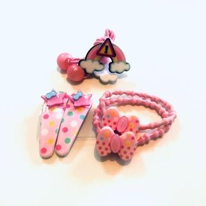 Other - [NEW] Children's Hair Tie & Hair Clips